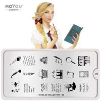 MoYou Stamping Plate Scholar 02
