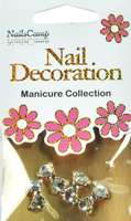 Nail Decoration Inlay Fliege Clear