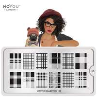 MoYou Stamping Plate Hipster 05