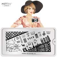 MoYou Stamping Plate Tourist 10