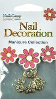 Nail Decoration Inlay Herzen clear