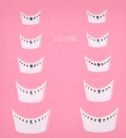 French Manicure Sticker XST99