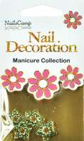 Nail Decoration Inlay Stern gold/clear