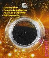Glitter in Dose - Schwarz