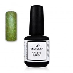 Gelpolish Cat-Eye Green